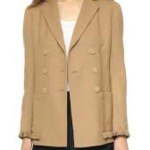 3.1 Phillip Lim Khaki Brown Light Jacket Coat 10